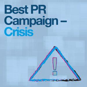 2018 Best PR Campaign Crisis